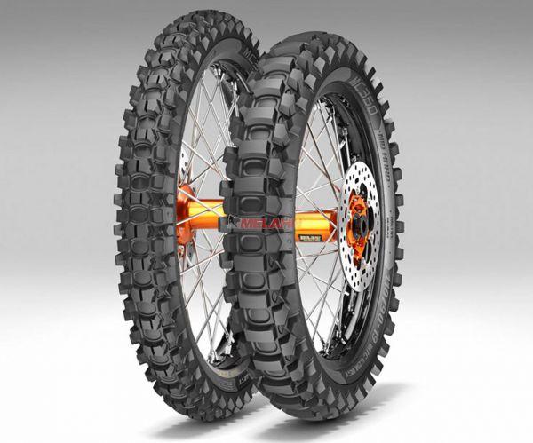 METZELER Reifen: MC 360 Mid Hard 140/80-18 (mit Straßenzulassung)
