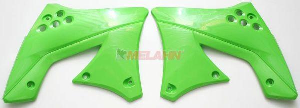 UFO Spoiler (Paar) Kühlerverkleidung KXF 250 09, 12, grün05