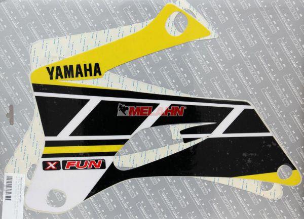 X-FUN Dekor-Kit, gelb/schwarz, YZF 250/450 06-09