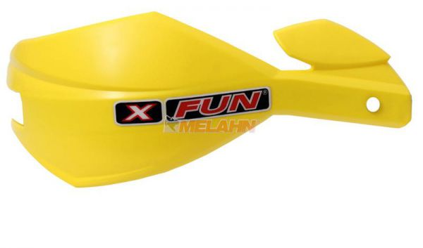 X-FUN Ersatzschale: Handprotektor Alu, gelb