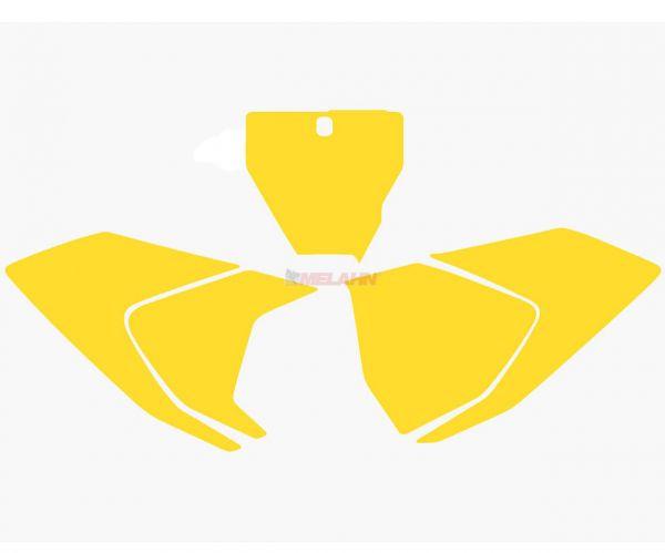 BLACKBIRD Startnummernuntergrund HVA FC/TC/TC (außer TC 250) 16-18, gelb