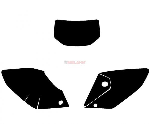 BLACKBIRD Startnummernuntergrund CRF 250X 04-07, schwarz