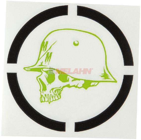 METAL MULISHA Aufkleber TDC: Range, 20cm, schwarz/grün