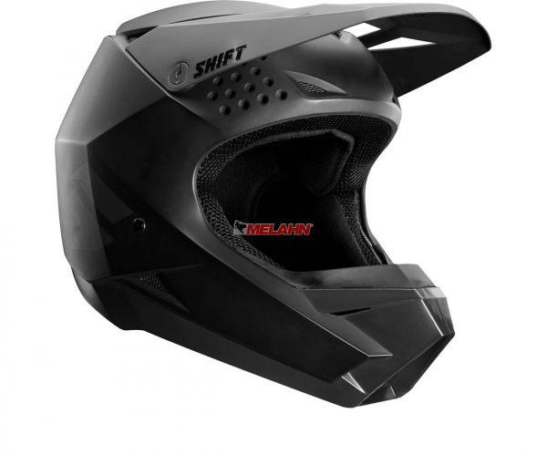 SHIFT Helm: Whit3, matt-schwarz