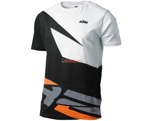 KTM T-Shirt: Emphatic, schwarz/weiß