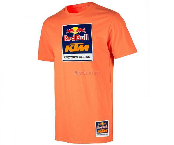 KTM RED BULL T-Shirt: KTM Racing Team, orange