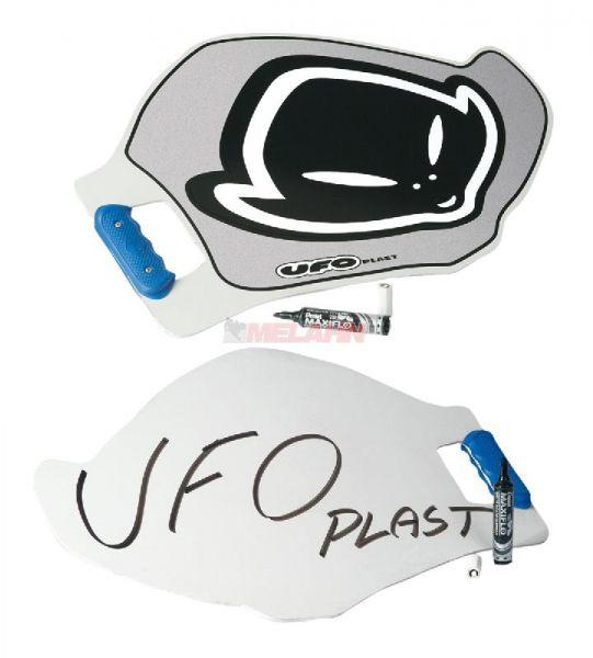 UFO Anzeigetafel mit Stift