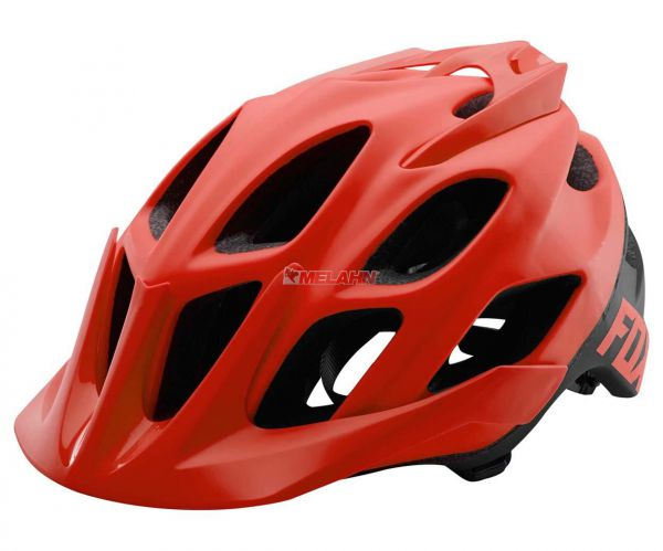 FOX MTB-Helm: Flux Creo, rot/schwarz