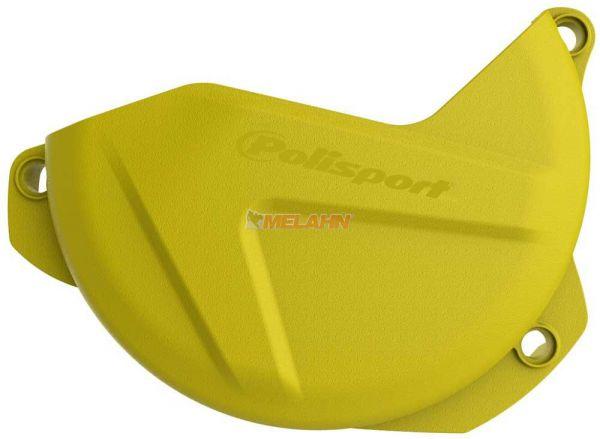 POLISPORT Kupplungsdeckelschutz, RMZ 250 07-18, gelb