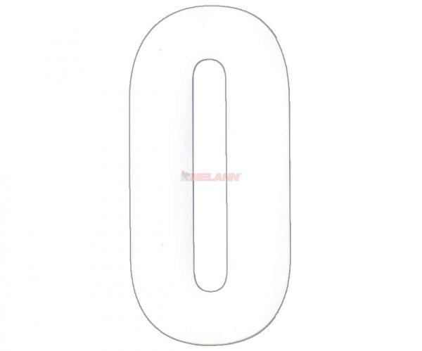 FX Enduro-Zahlen 12,5cm einzeln, weiß