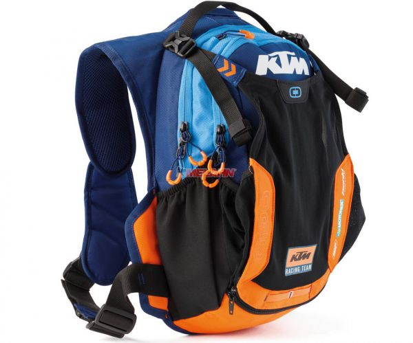 KTM Trinkrucksack: Team Baja, blau/orange