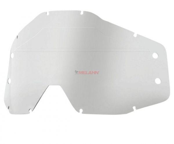 100% Ersatzglas für Roll-Off-System Forecast , klar
