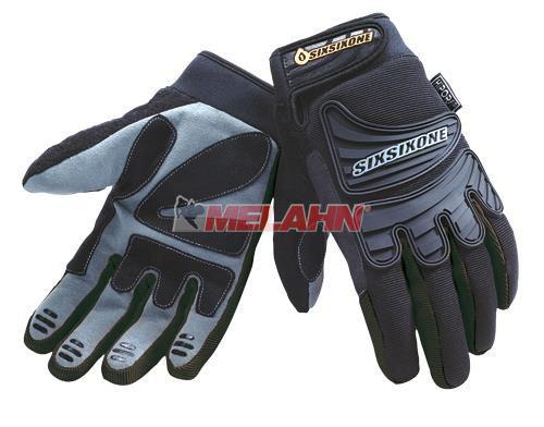 SIXSIXONE Handschuh: Storm, schwarz, Gr.S
