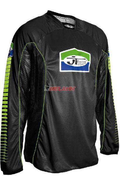 JT-RACING Hemd: Pro Tour, schwarz/grün