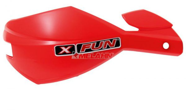 X-FUN Ersatzschale: Handprotektor Alu, CRrot