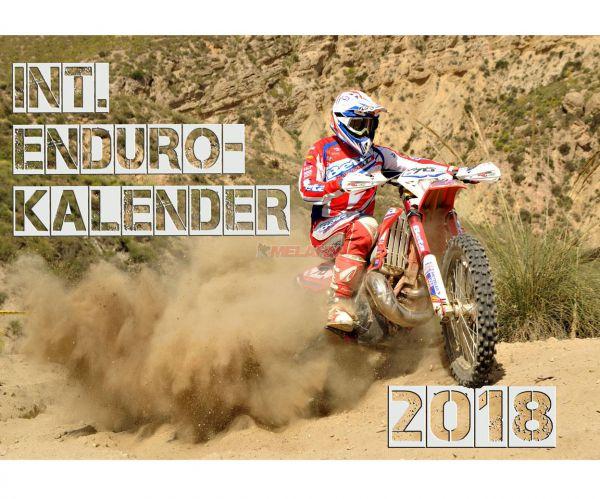 Enduro-Kalender 2018, DIN A3