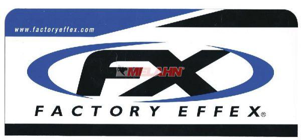 FX Aufkleber: Big Logo, 24x9,5cm, blau