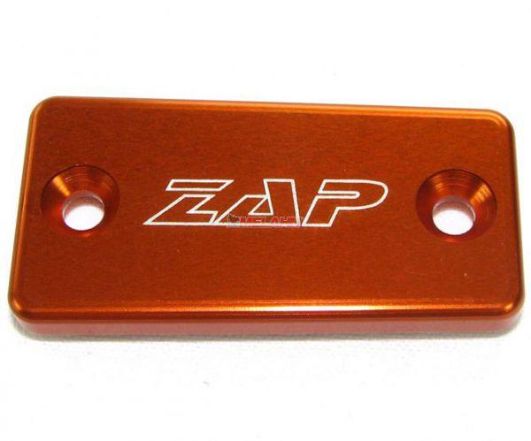 ZAP Aluminium-Deckel Kupplungszylinder CNC MAGURA ab 2009, KTM/HVA, orange