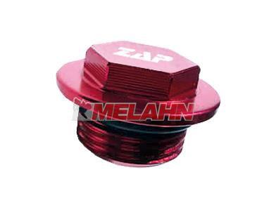 ZAP Aluminium-Öleinfüllschraube RMZ, rot
