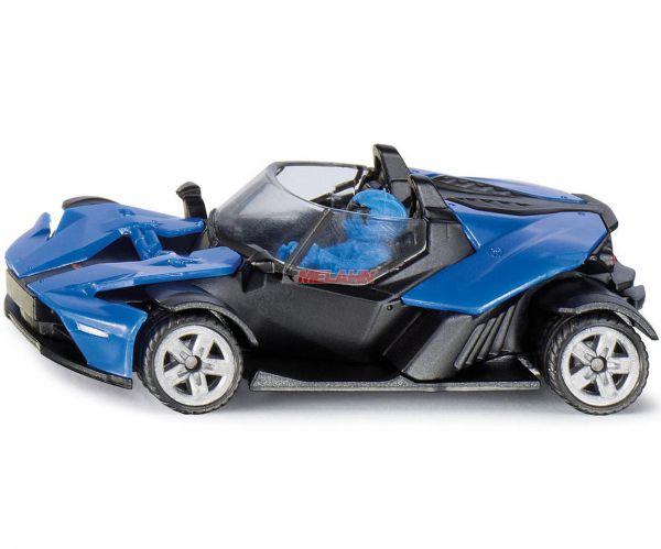 SIKU Mini Modell KTM X-Bow GT, blau
