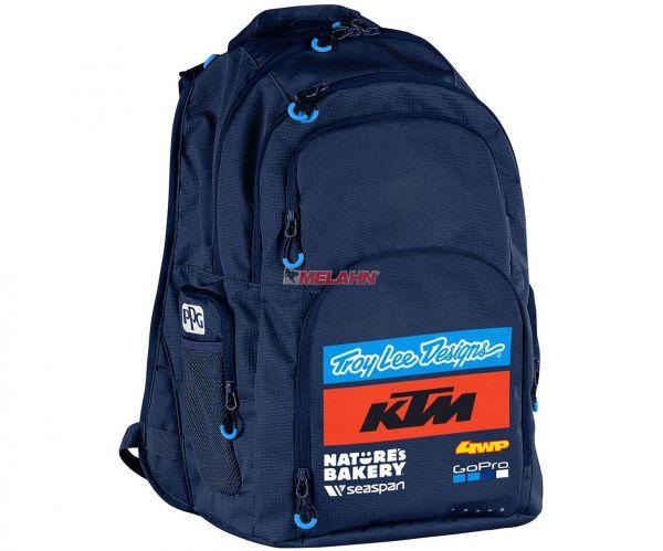 KTM TROY LEE DESIGNS Rucksack: KTM Team, navy
