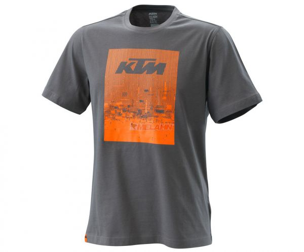 KTM T-Shirt: Radical, grau/orange