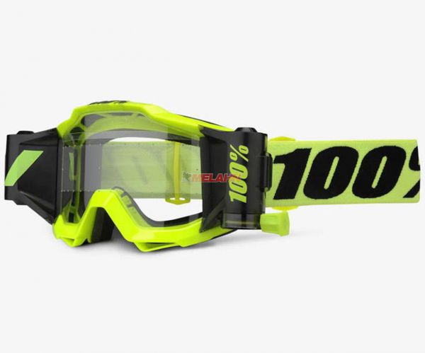 100% Brille: Accuri Forecast Fluo Yellow, neon-gelb