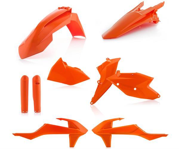 ACERBIS Plastik-Kit EXC/EXCF 17-, orange