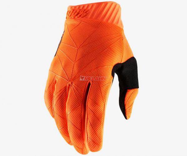100% Handschuh: Ridefit , orange