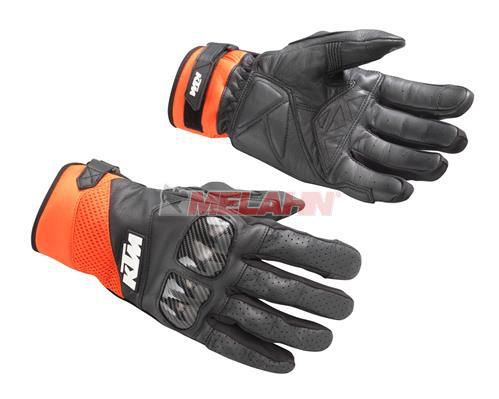 KTM Handschuh: Radical X, schwarz/orange