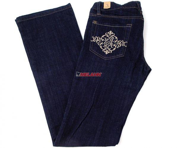 FOX Girls Jeans: Bril, blau, Gr. 3/36