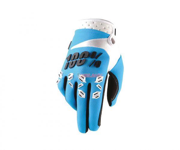 100% Handschuh: Airmatic , blau