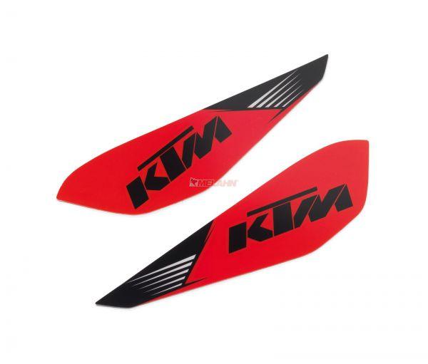 KTM Handschutz-Aufkleber (Paar), orange
