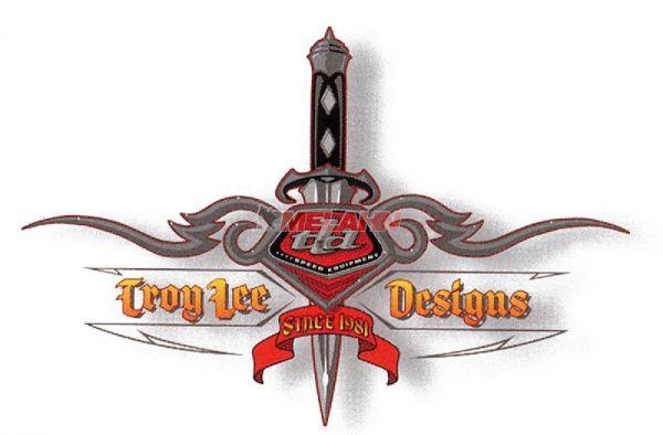 TROY LEE DESIGNS Aufkleber: TLD Dagger, 15cm