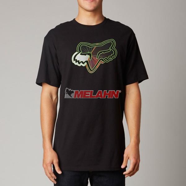 FOX T-Shirt: Radeon, schwarz