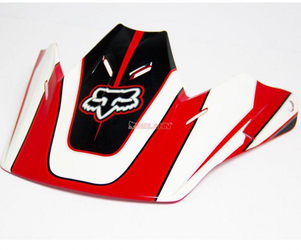 FOX Helmschirm: Visor V3 Race 2007, rot