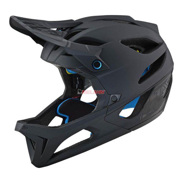 TROY LEE DESIGNS MTB-Helm: Stage (MIPS), Stealth black