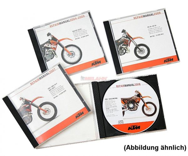 CD RA 450/525 XC ATV 2008-12