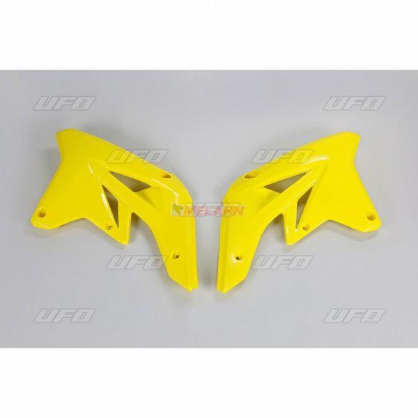 UFO Spoiler (Paar), Kühlerverkleidung RMZ 250 07-09, gelb2001