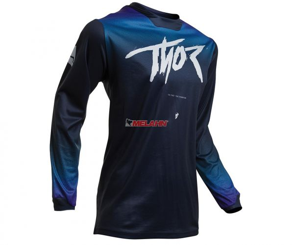 THOR Girls Jersey: Pulse Fader, midnight