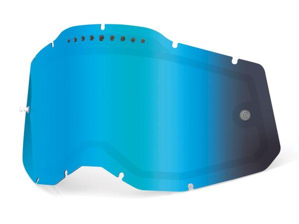 100% Spiegel-Doppelglas vented Generation 2, blau