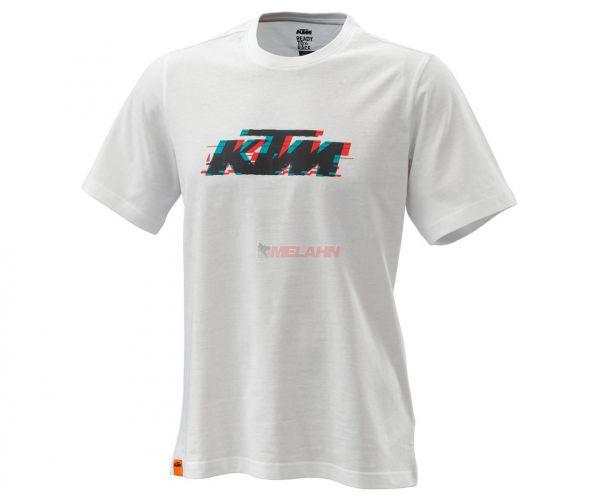 KTM T-Shirt: Radical Logo, weiß