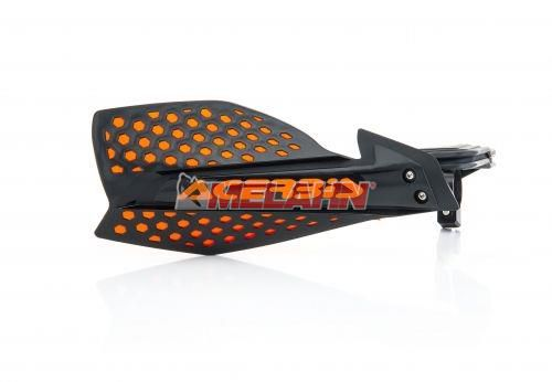 ACERBIS Handprotektor (Paar): X-Ultimate, schwarz/orange