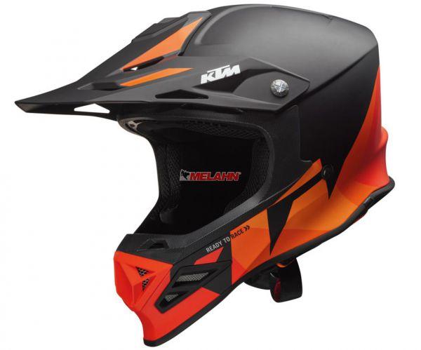 KTM Helm: Dynamic-FX, schwarz/orange