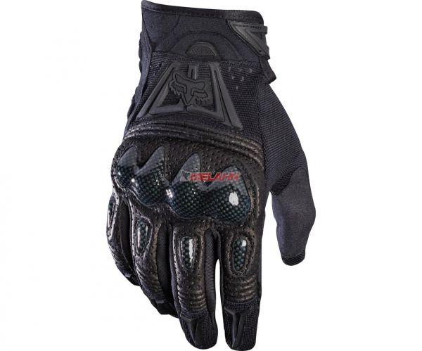 FOX Handschuh: Bomber, schwarz/schwarz