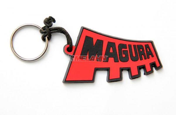 MAGURA Schlüsselanhänger: Logo, rot