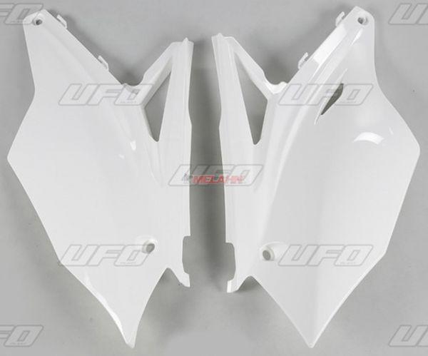 UFO Seitenteile (Paar) KXF 450 16-, weiß