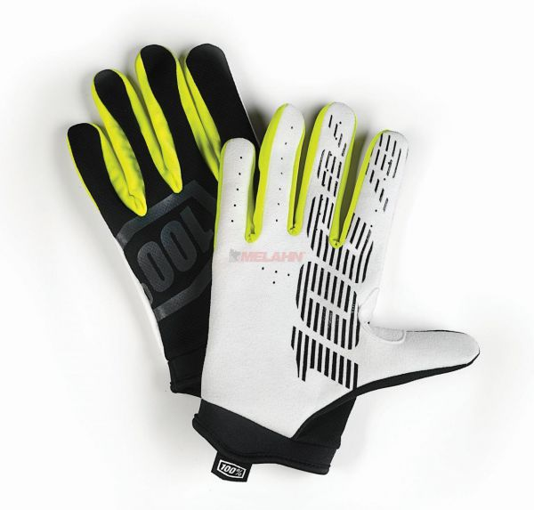 100% Handschuh: I-Track, schwarz