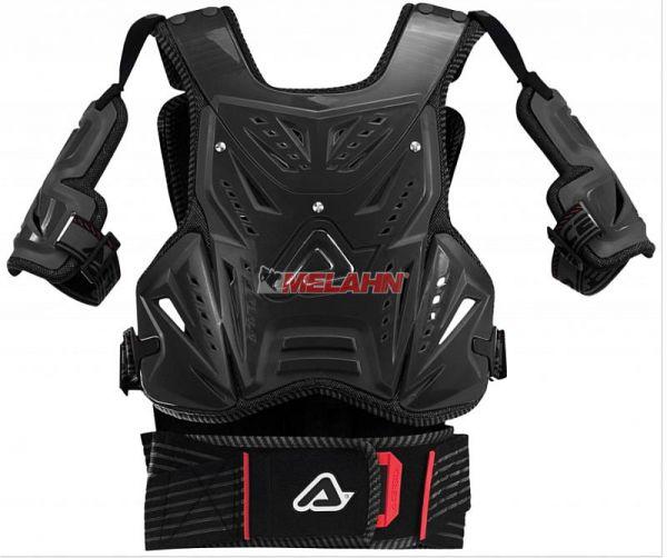 ACERBIS Brustpanzer: Cosmo MX 2, schwarz