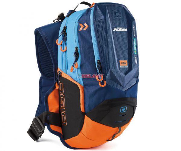 KTM Trinkrucksack: Team Dakar 3 Liter, blau/orange